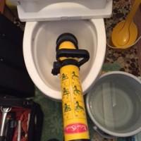 富士宮市精進川洋式トイレ詰まり修理