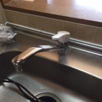 菊川市赤土 水栓交換
