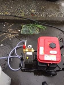 掛川市台所排水詰まり修理