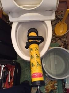 掛川市 洋式トイレ詰まり修理