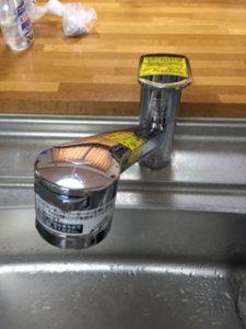 磐田市 蛇口水漏れ修理