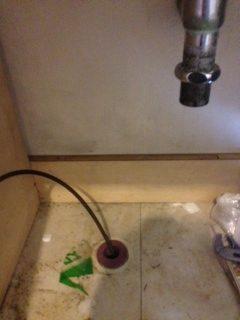 山北町 排水詰まり修理