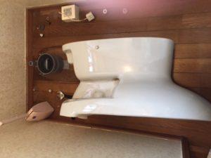 掛川市 洋式トイレ脱着