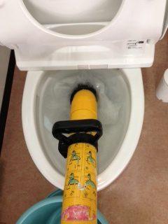 菊川市 洋式トイレ詰り修理