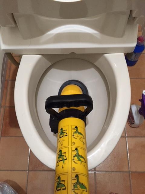 周智郡森町 トイレ詰り修理