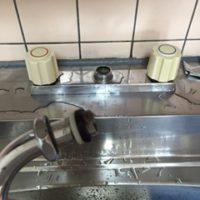 菊川市 台所蛇口水漏れ修理