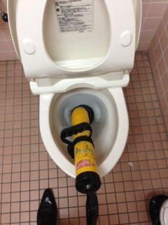 浜松市 洋式トイレ詰り修理