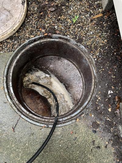 浜松市 台所排水詰まり