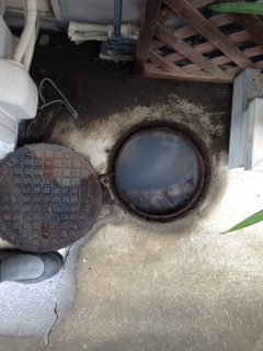 浜松市 台所排水管詰まり