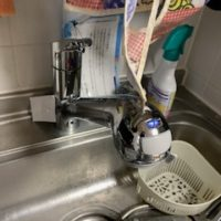 磐田市立野 蛇口水漏れ修理
