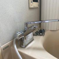浜松市中区上島   浴室蛇口交換