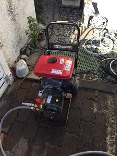 浜松市浜北区中瀬 高圧洗浄作業