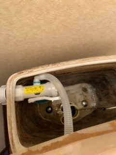 浜松市 トイレタンク水漏れ