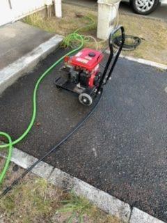 浜松市東区植松町 高圧洗浄使用
