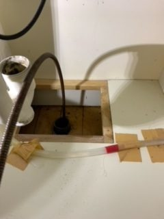 浜松市中区南浅田 洗面排水つまり修理