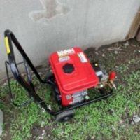 袋井市梅山 排水管洗浄機作業